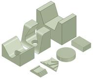 Pediatric Positioning Sponge Kit - Stealth Foam
