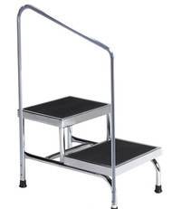 Two-Step Stool (with handrail)
