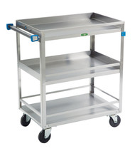 Utility Cart with Guard Rail (400lb. capacity)