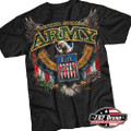 762 Design Army Fighting Eagle T shirt