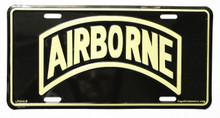Airborne License Plate