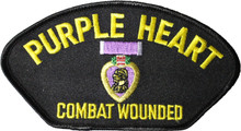 Purple Heart Hat Patch