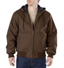 Dickies Timber Brown Sanded Duck Hooded Jacket