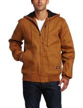 Dickies Brown Rigid Duck Hooded Jacket