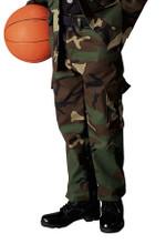 Rothco Kids Woodland Camo BDU Pants