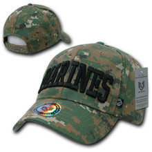 Rapid Dominance Woodland Digital Marines Ball Cap