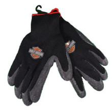 Harley Davidson Rubber Coated Work Gloves Large