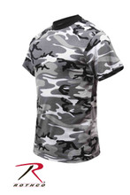 Kids Urban Camo T Shirt