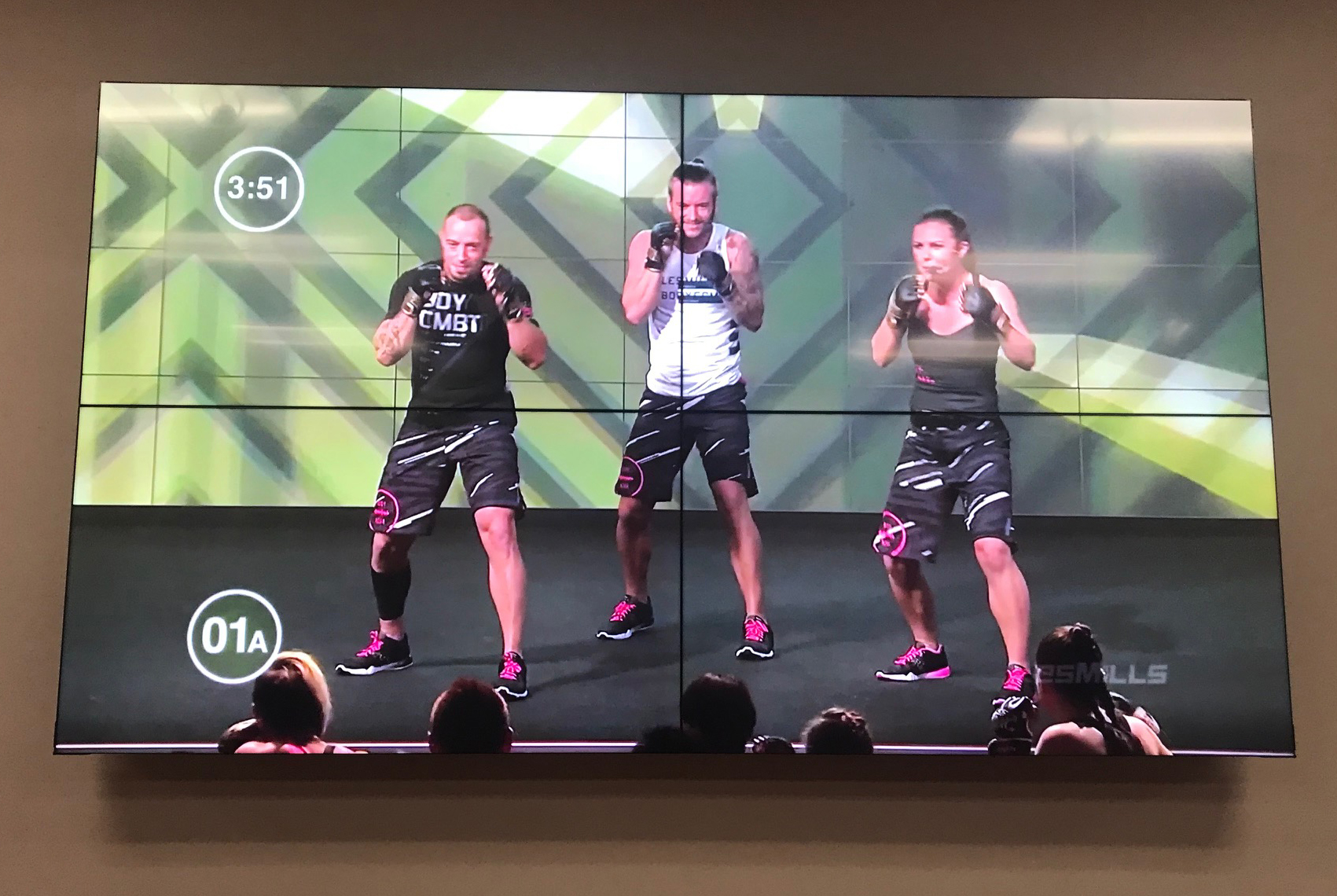 Virtual Fitness Systems - LED/LCD TV Video Walls - Supreme Audio