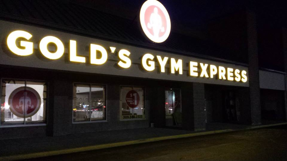 Gold's Gym Express - Pekin, IL Installation by Supreme Audio