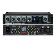 Shure SCM262 5-Channel Mic Mixer - Front & rear view