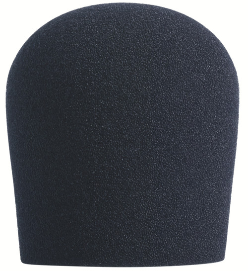BLACK SupremeFit™ Handheld Microphone Windscreen