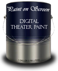 Paint On Screen Single-Coat Projection Screen Paint
