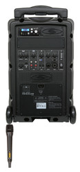 Galaxy Audio GAL08HH1 TV8 AC/Battery-Powered 120 Watt Portable Sound System - Basic System + 1 Handheld System (no CD)