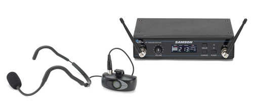 Samson Airline ATX Micro Wireless Mic System with Samson QEP3 Fitness Headset