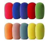 Small Foams - Multicolor (no Black or Grey) - 10-PAK