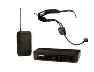 Shure BLX UHF System(BLX4 Receiver + BLX1 Beltpack) +  Shure WH-20TQG Pro Headset - $319.00