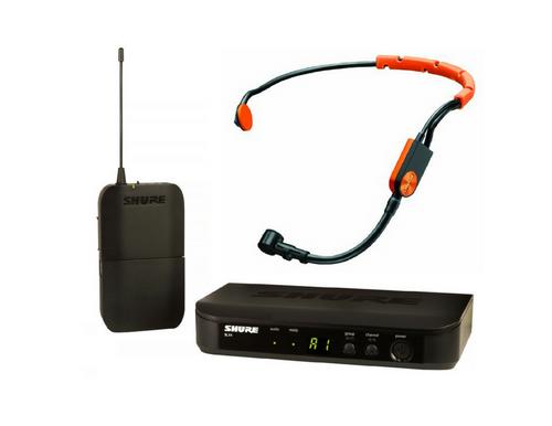 Shure BLX UHF System(BLX4 Receiver + BLX1 Beltpack) +  Shure SM-31FH - $329.00