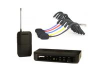 Shure BLX UHF System(BLX4 Receiver + BLX1 Beltpack) +  Emic (5 colors) - $429.99