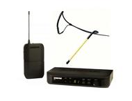 Shure BLX UHF System(BLX4 Receiver + BLX1 Beltpack) +  Aeromic AM11H-SH Headset - $629.99