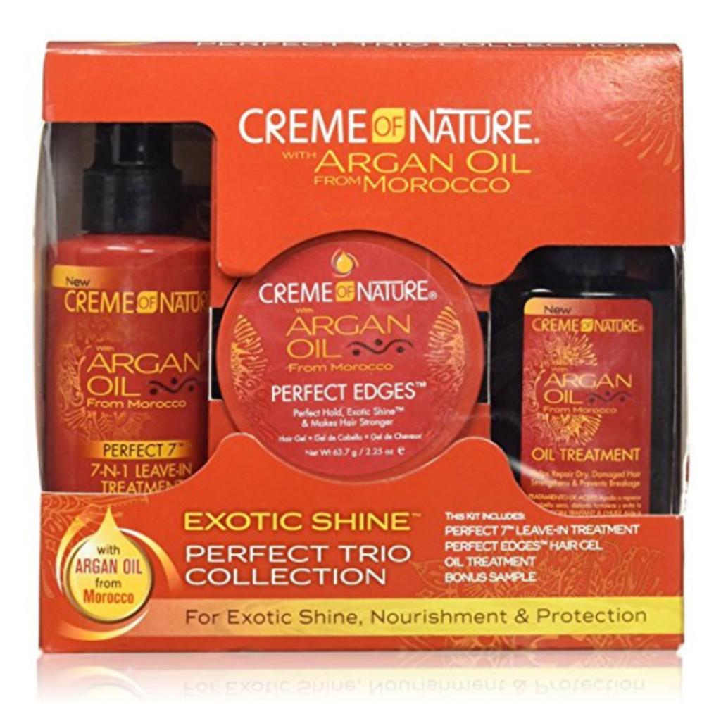 Creme of Nature Argan Oil Perfect Trio Kit