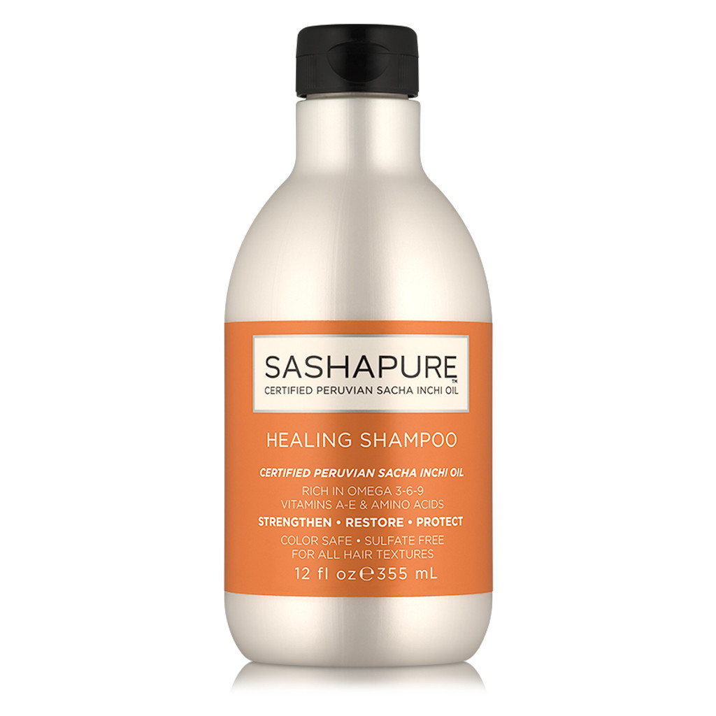 Sashapure Healing Shampoo (12 oz.)