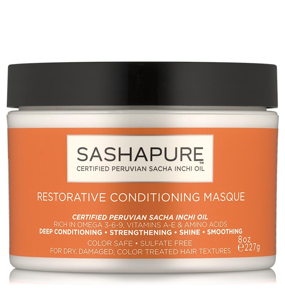 Sashapure Restorative Conditioning Masque (8 oz.)