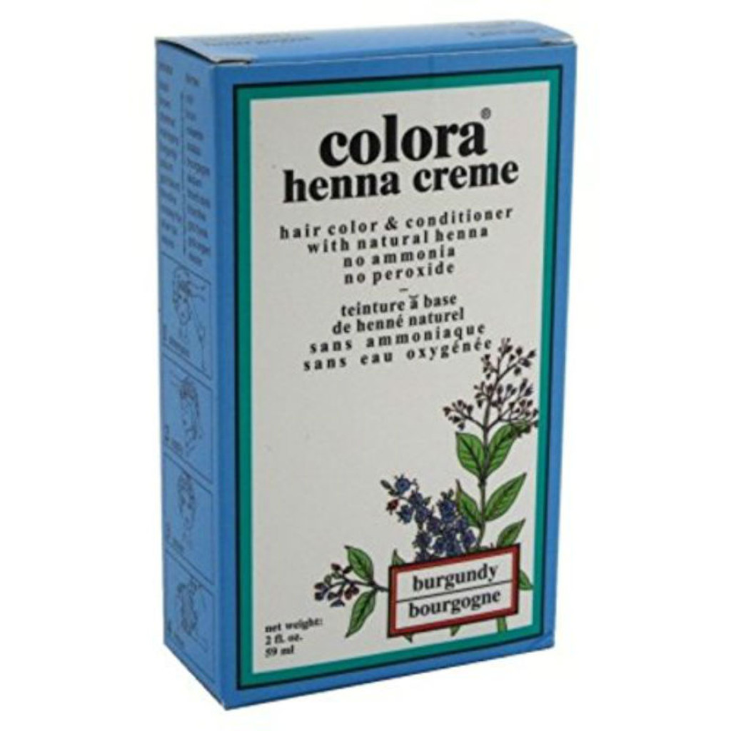 Colora Henna Creme Burgundy (2 oz.)