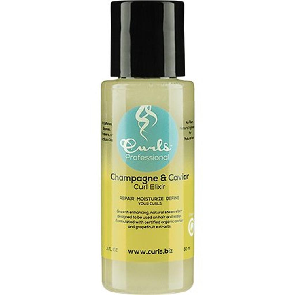Review: CURLS Champagne & Caviar Curl Elixir (Hair Oil Blend for Sheen & Hair Growth)