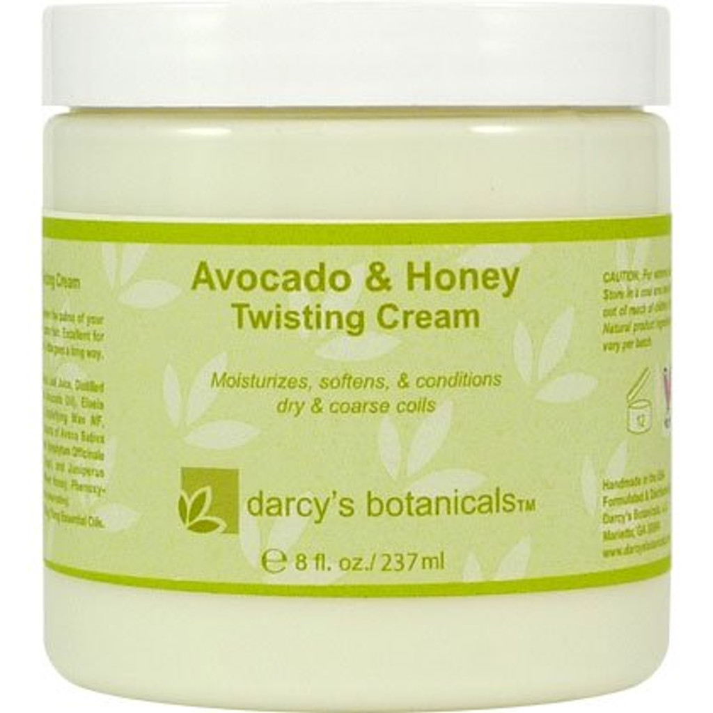 Darcy's Botanicals Avocado & Honey Twisting Cream (8 oz.)