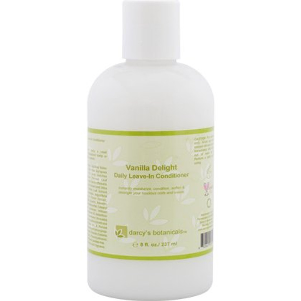 Darcy's Botanicals Vanilla Bean Daily Leave-In Conditioner (8 oz.)