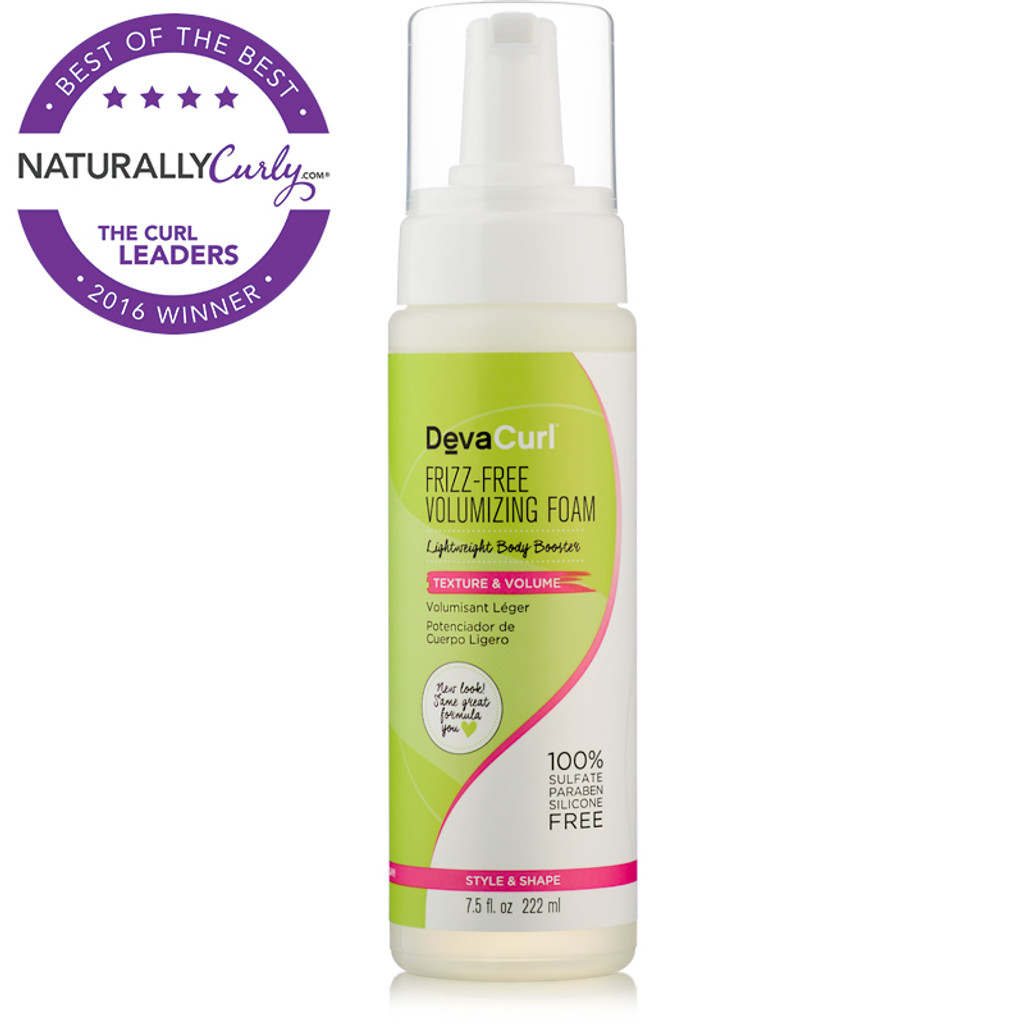 DevaCurl Frizz-Free Volumizing Foam (7.5 oz.)