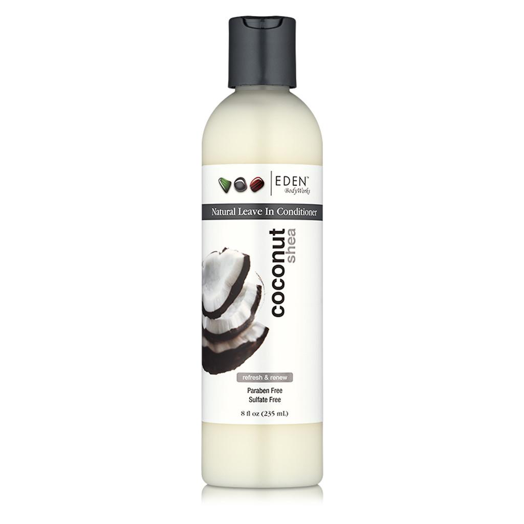 EDEN BodyWorks Coconut Shea Natural Leave-In Conditioner (8 oz.)