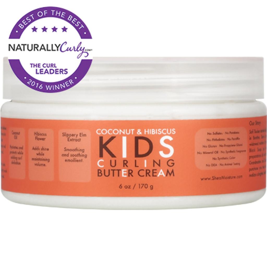 SheaMoisture Coconut & Hibiscus Kids Curling Butter Cream (6 oz.)
