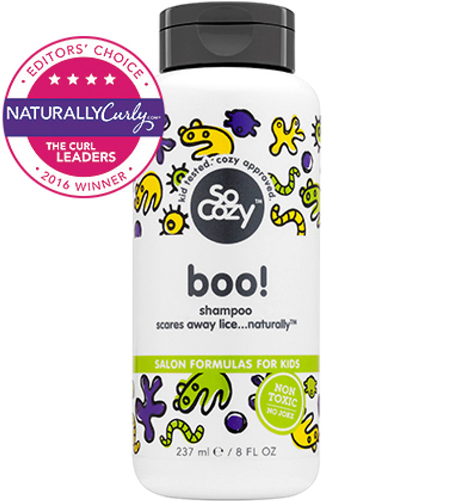 SoCozy Boo! Lice Prevention Shampoo (8 oz.)