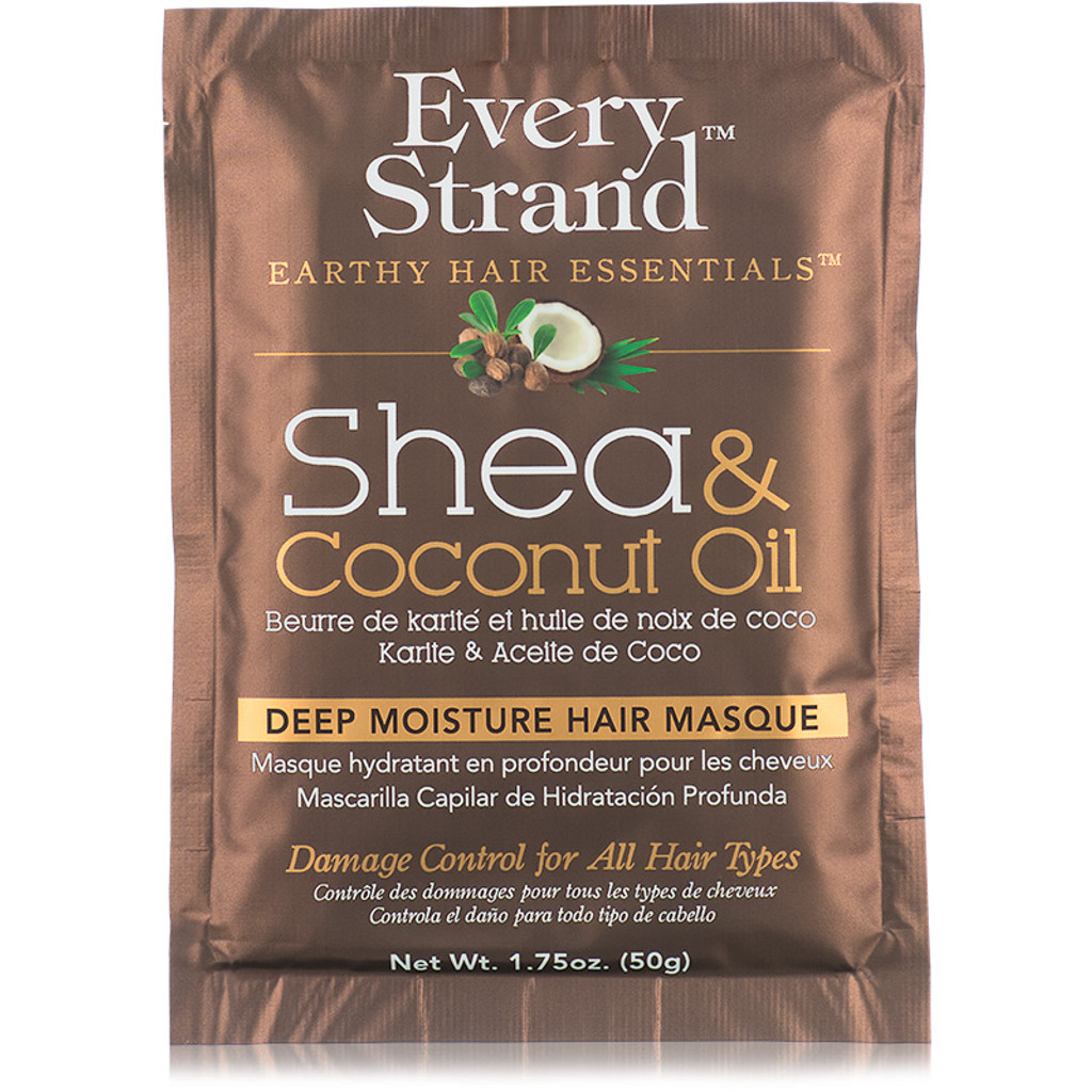 Every Strand Shea & Coconut Oil Deep Moisture Hair Masque Packette (1.75 oz.)