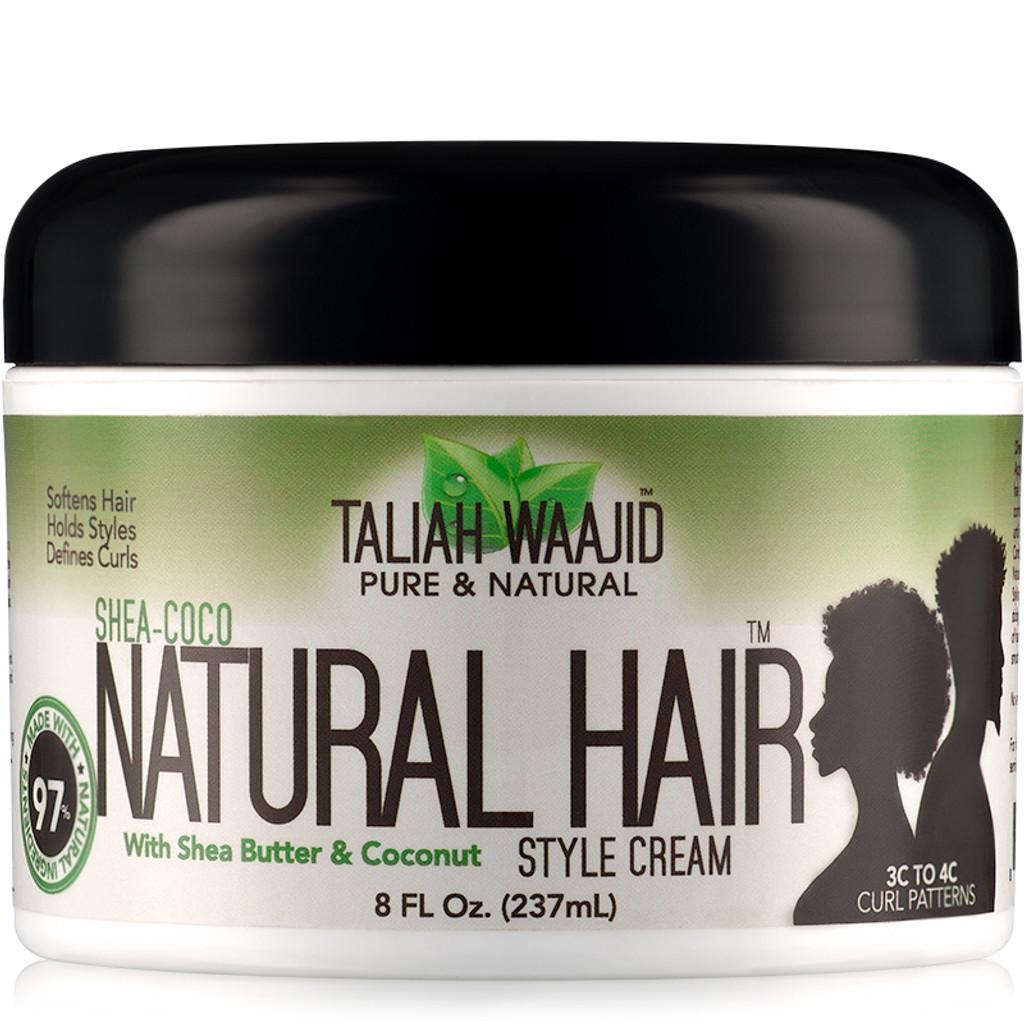 Taliah Waajid Shea-Coco Natural Hair Style Cream (8 oz.)