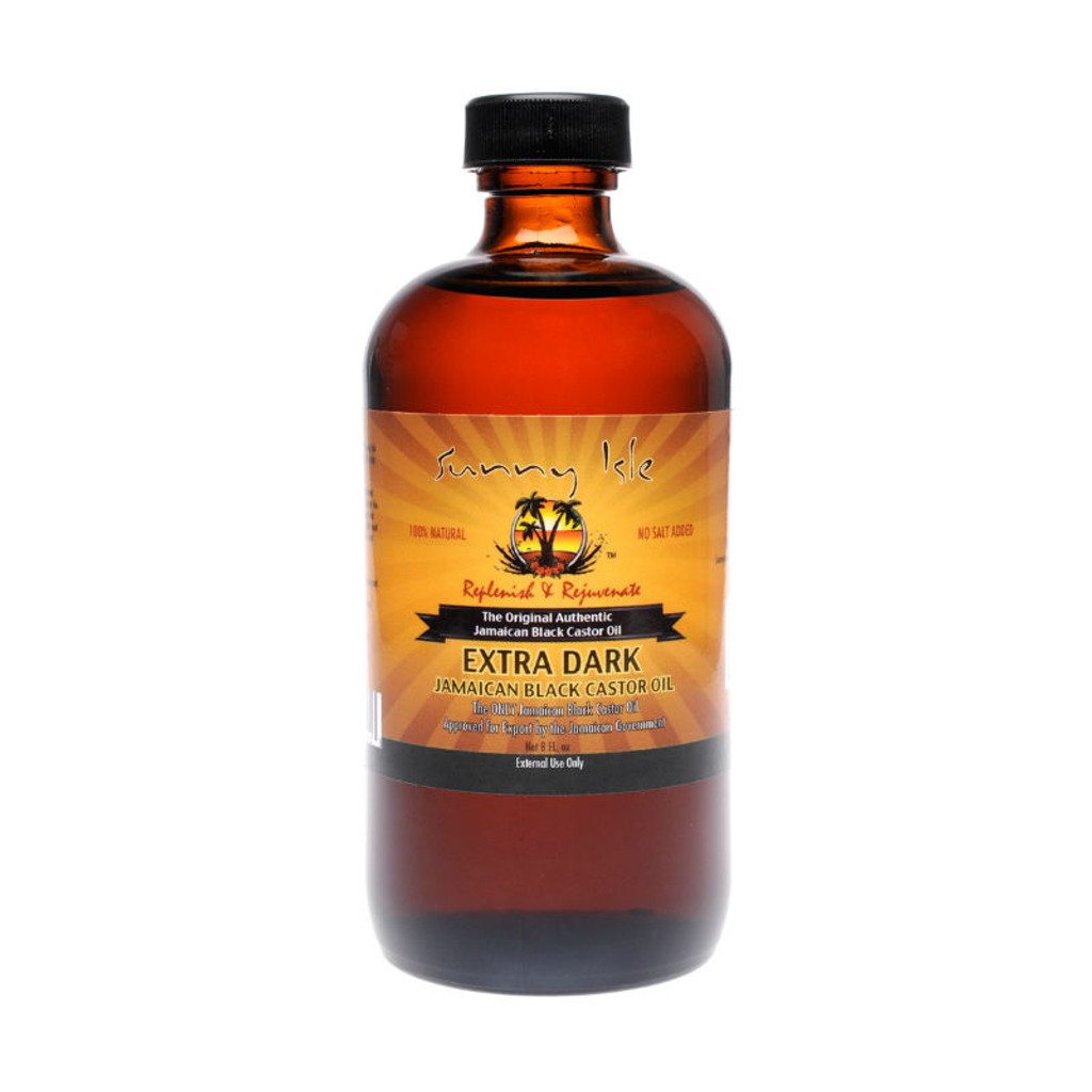Sunny Isle Jamaican Black Castor Oil Extra Dark (8 oz.)