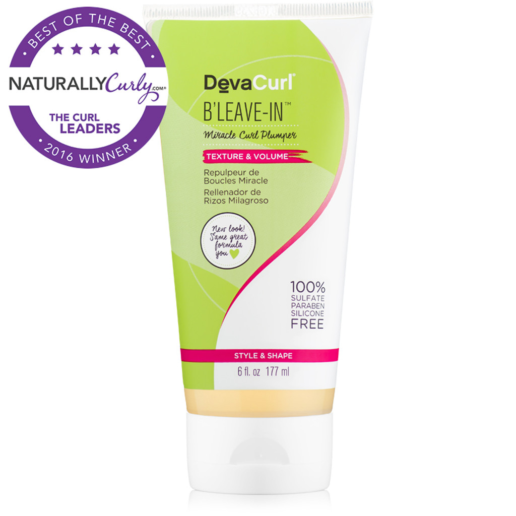 DevaCurl B'Leave In Curl Boost and Volumizer (6 oz.)