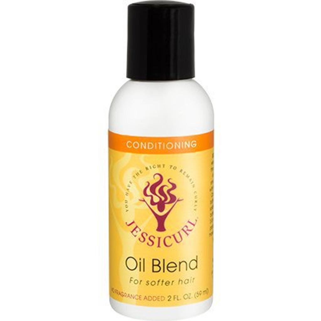 Jessicurl Oil Blend for Softer Hair - No Fragrance (2 oz.)