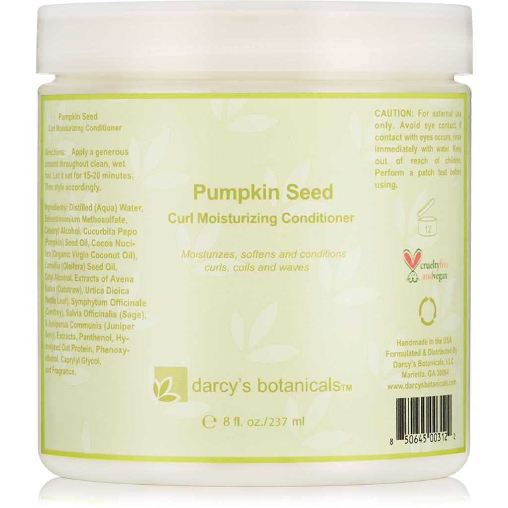 Review: Darcy's Botanicals Pumpkin Seed Moisturizing Conditioner (8 oz.)