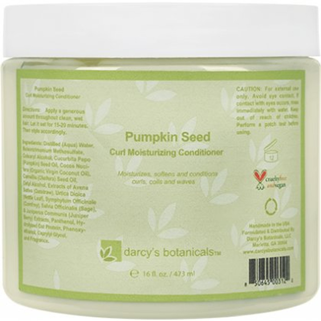 Review: Darcy's Botanicals Pumpkin Seed Moisturizing Conditioner (16 oz.)
