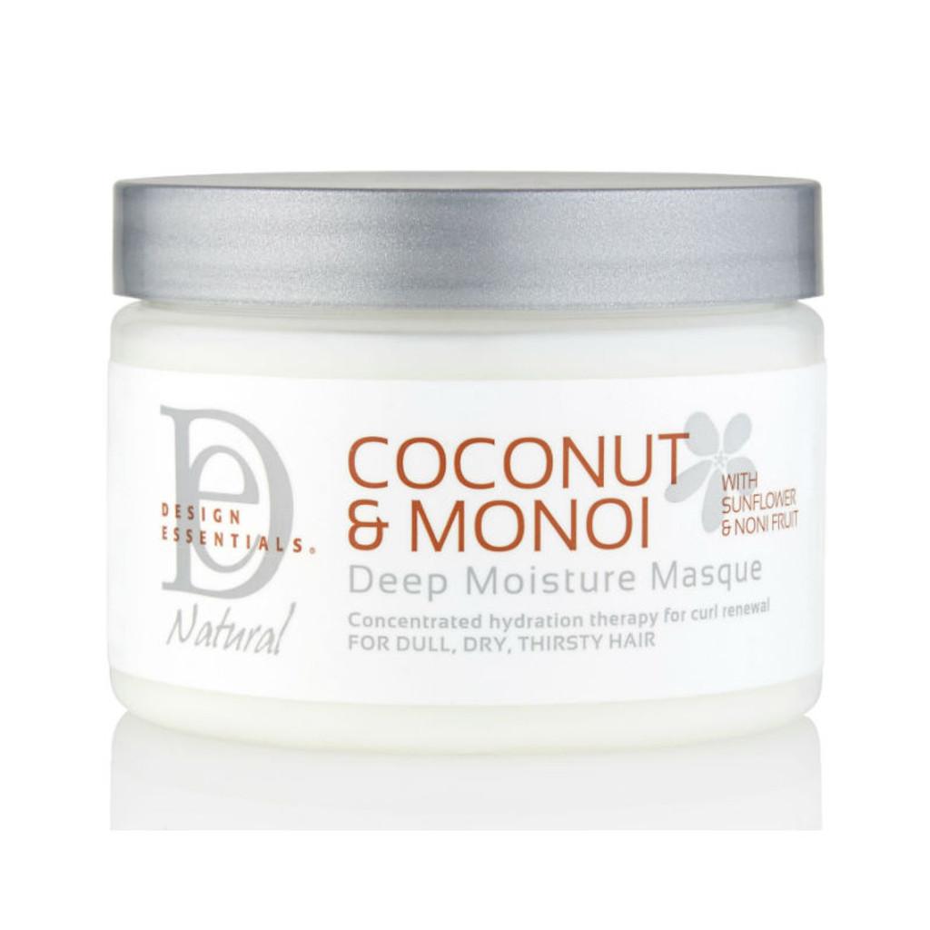 Design Essentials Coconut & Monoi Deep Moisture Masque (12 oz.)