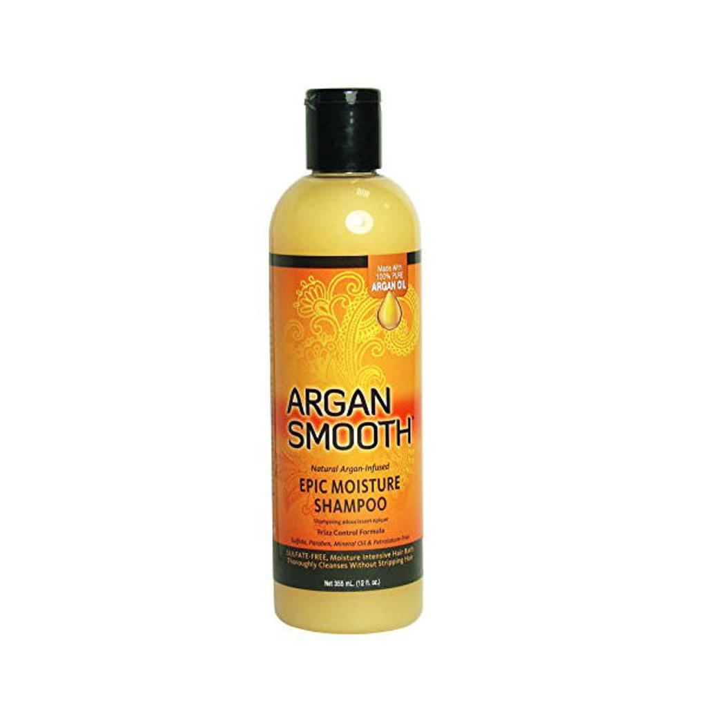 Argan Smooth Epic Moisture Shampoo (12 oz.)