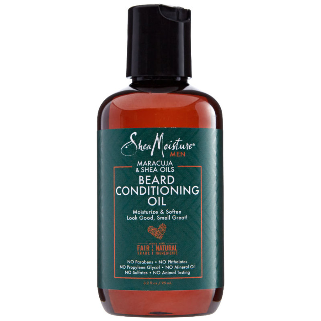 SheaMoisture Men Maracuja & Shea Oils Beard Conditioning Oil (3.2 oz.)