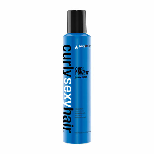 Review: Sexy Hair Curly Sexy Hair Curl Power Spray Foam Curl Enhancer (8.4 oz.)