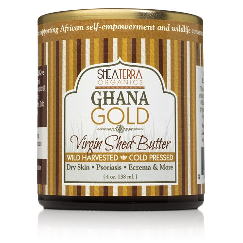 Review: Shea Terra Organics Ghana Gold Cold Pressed Shea Butter (4 oz.)