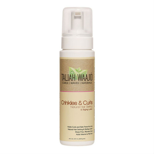 Taliah Waajid Curls, Waves, & Naturals Crinkles & Curls Natural Hair Setting & Styling Lotion (8 oz.)