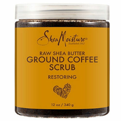 Review: SheaMoisture Raw Shea Butter Ground Coffee Scrub (12 oz.)