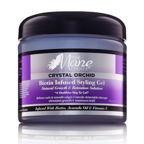 The Mane Choice Crystal Orchid Biotin Infused Styling Gel (16 oz.)